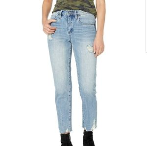 Blank NYC Madison crop jeans.
